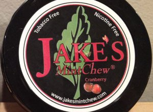 Photo of Jake's Mint Chew – Cranberry