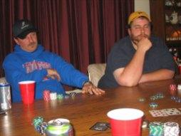Bill Contemplates Poker