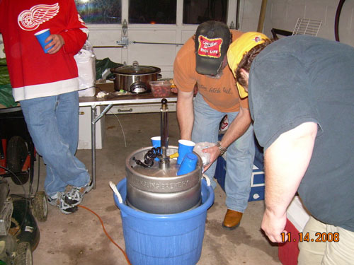 Icing Down The Keg