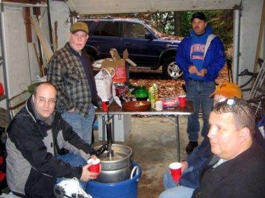 Friends Gathered Round