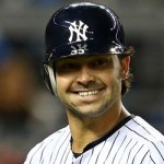 Nick Swisher All Smiles With A Big Dip In