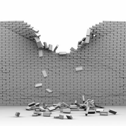Wall Falling Down