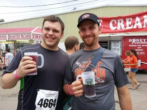 Steve1357 & Smithat05 at Cleveland Oktoberfest