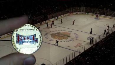 Photo of Bill and His HOF Coin Visit The Madhouse On Madison