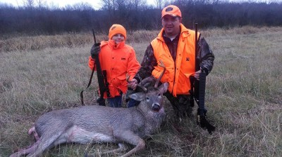 Guido With an 8 Point MN Buck