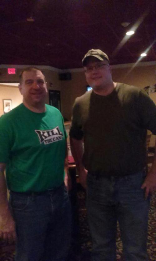 SirDerek and MN_Ben Holly's Sports Lounge in Fort Washington PA