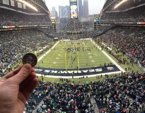 Luby At The NFC Championship Game