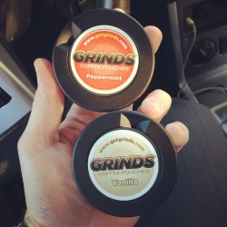 Peppermint & Vanilla Grinds