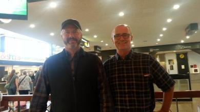 Photo of Zeno and brettlees at the SeaTac Airport In Seattle