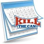 KillTheCan Calendar