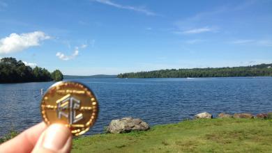 Photo of NOLAQ & His HOF Coin Visit Rangeley Lake