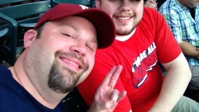 Photo of Chewie & Steve1357 Take In An Indians Game