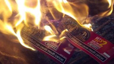 Photo of Big Tobacco Right Where It Belongs