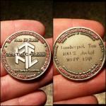 Lumberjack Tim HOF Coin