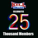 25,000 Registered Forum Members!
