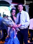 Miss Central America Khadine Barria and Lazytrader