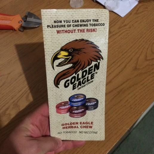 Golden Eagle Herbal Chew Brochure