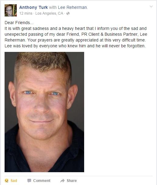Lee Reherman FB