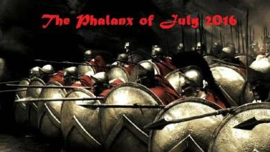 Photo of The Phalanx of July 2016 Quit Group Logo