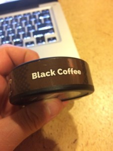 Grinds Black Coffee Side