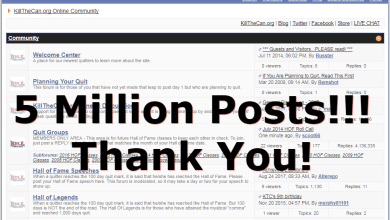 Photo of 5 Million Forum Posts!