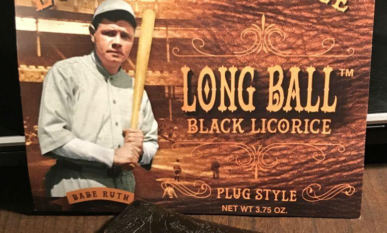 Long Ball Licorice Logo