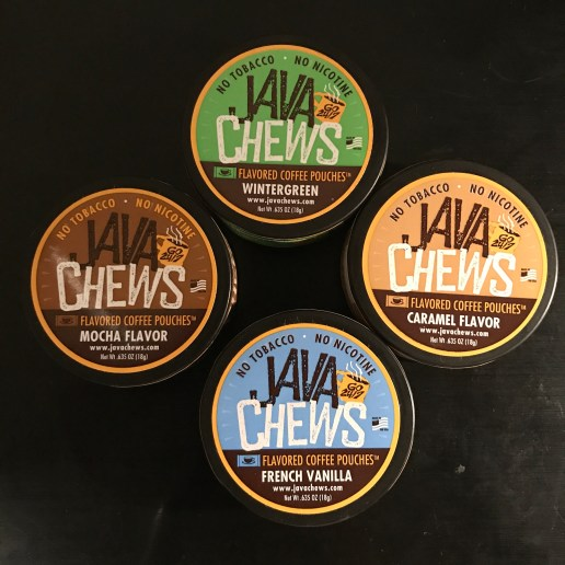 Java Chews Flavored Coffee Pouches