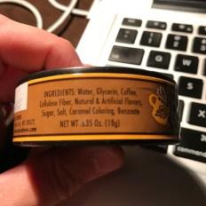 Java Chews - Ingredients