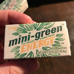 Mini-Green Energy Pouches - Citrus