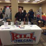 Athan Representing KTC at Company Health Expo