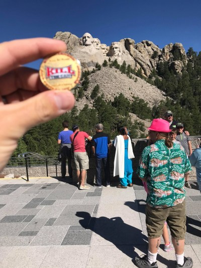 MattyB at Mount Rushmore