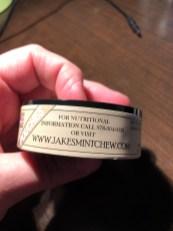 Jake's Mint Chew Eggnog Info