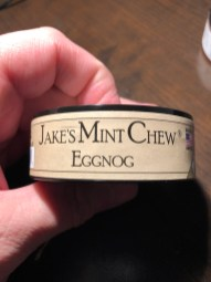 Jake's Mint Chew Eggnog Side