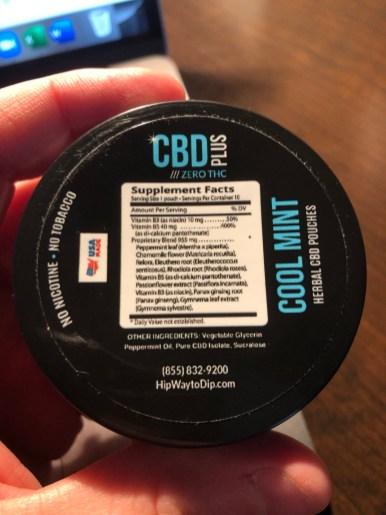 CBD Plus Herbal Pouches 5