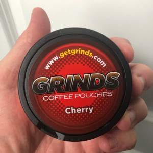 Grinds Cherry Coffee Pouches