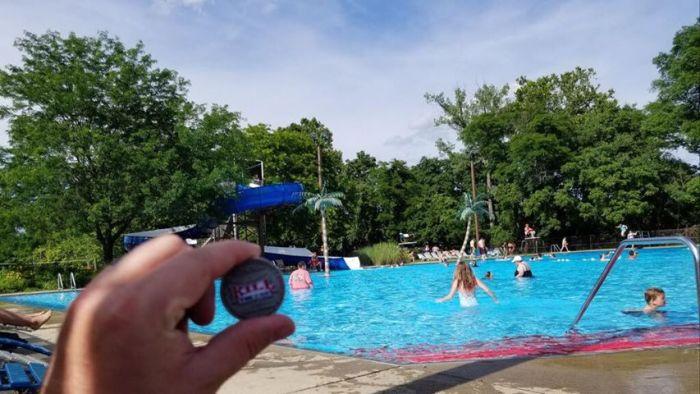 Bug Guy at the Pool 8.22.2019