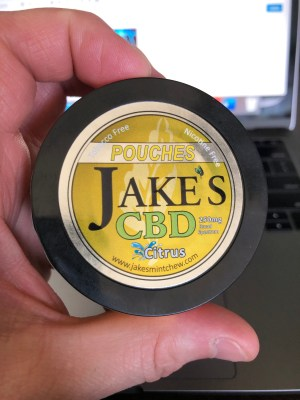 Jake's CBD Citrus Pouches 4