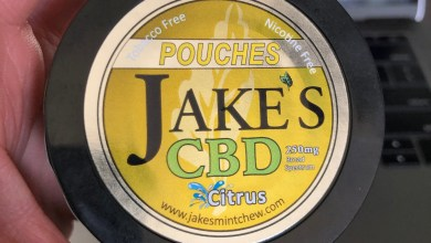 Photo of Jake's CBD Citrus Pouches Review