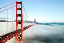 Fog - Golden Gate Bridge