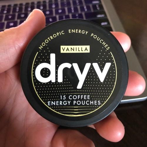 Dryv Energy Pouches Vanilla 1