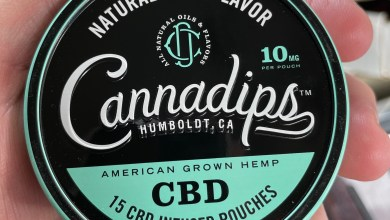 Cannadips CBD Infused Pouches Feature