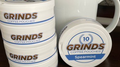 Grinds Coffee Pouches Spearmint