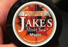 Jake's Mint Chew Maple Pouches