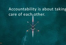 Accountability Is About Taking Care
