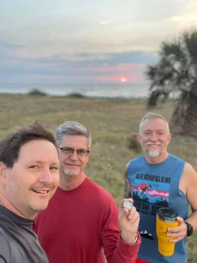 Hydro, Cbird and Roy - Jekyll Island - 4.24.2021