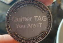 BBJ Quitter Tag Coin 5.12.2021 Feature