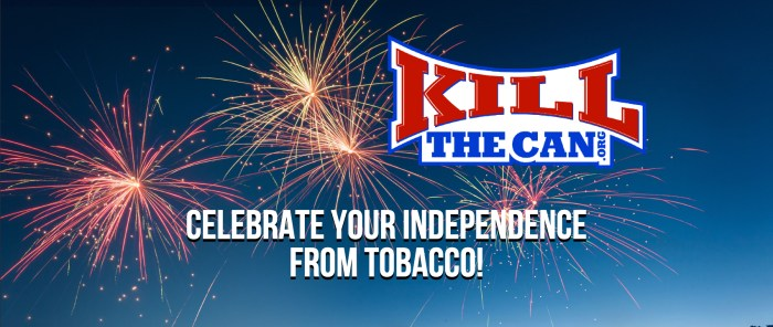 Celebrate Your Independence From Tobacco