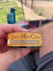 Jake's Mint Chew Butterscotch Pouches 6