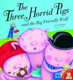 The Three Horrid Pigs bookcover