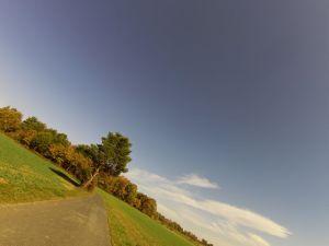 Richtung Mittelpunkt des Burgenlandes